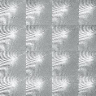 Patifix okenní fólie Transparent 3D Čtverce - šíře 45 cm