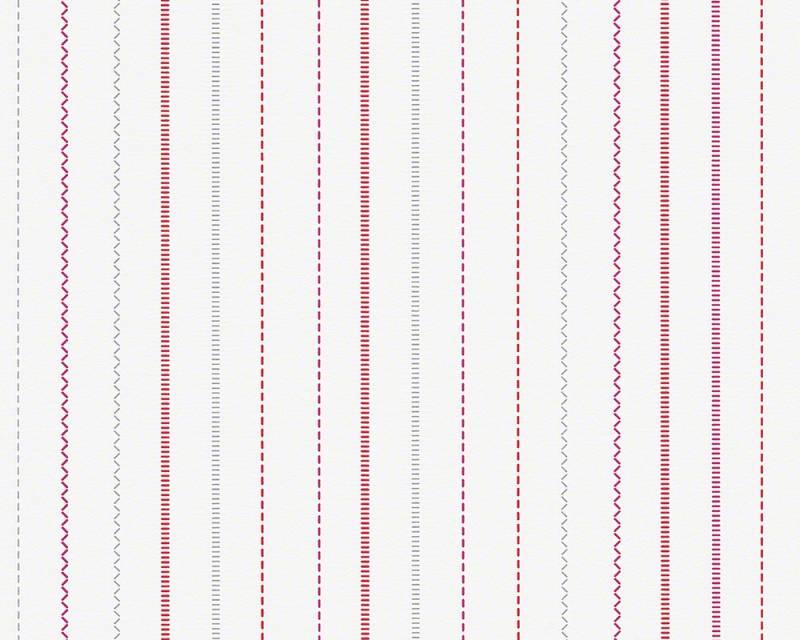 Dětská tapeta Esprit Kids 3 94129-3 (Bílá, růžová, červená)