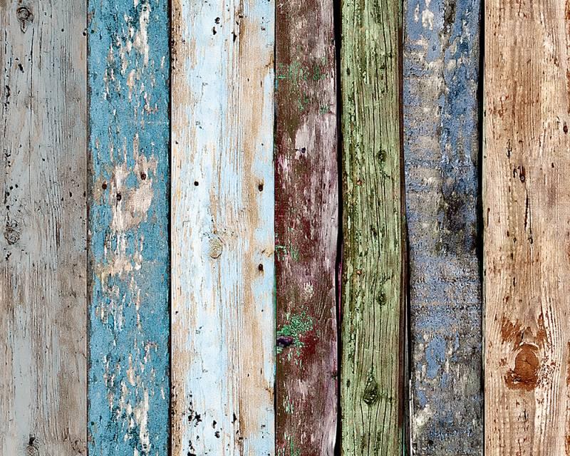 Samolepicí panel Pop Up 94219-1 (0,35 x 2,5 m - barevné dřevo)