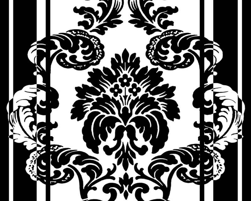 Samolepicí panel Pop Up 94225-1 (0,35 x 2,5 m - bílá, černá)