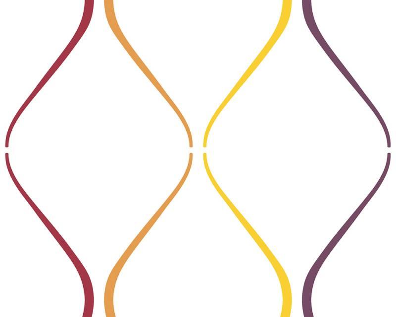 Samolepicí panel Pop Up 94227-2 (0,35 x 2,5 m - bílá, barevná)