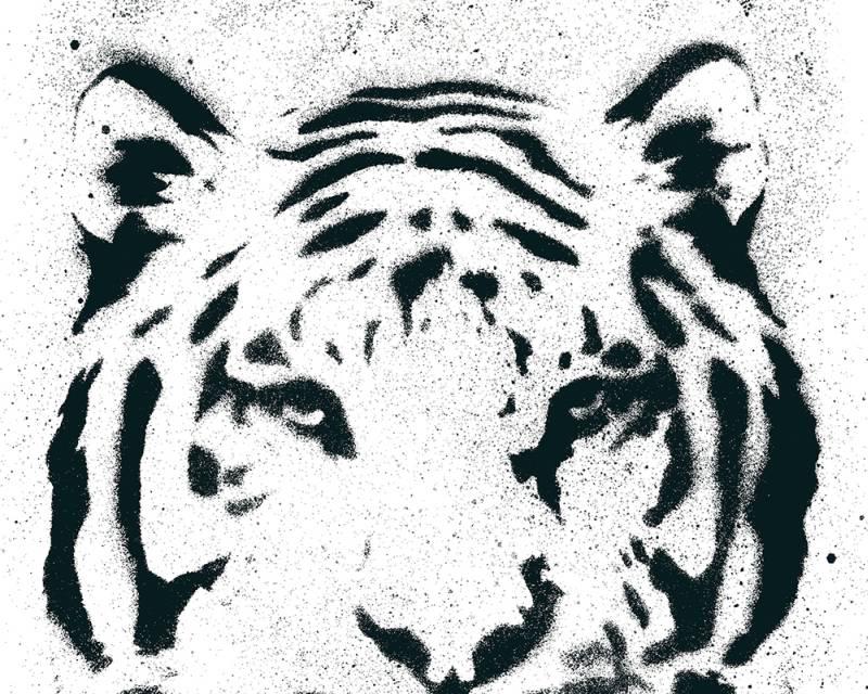 Samolepicí panel Pop Up 94235-1 (0,35 x 2,5 m - bílá, černá)