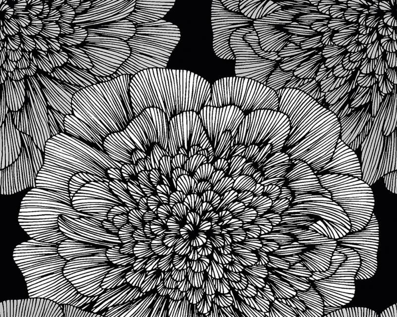 Samolepicí panel Pop Up 94248-2 (0,35 x 2,5 m - černá, šedá)