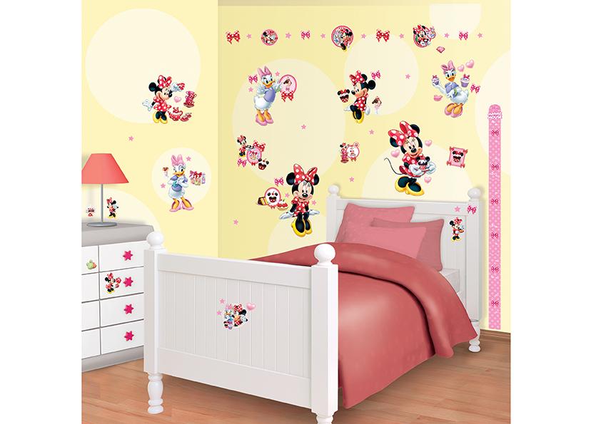Samolepicí dekorace Walltastic Minie 34 x 46 cm 41431 (Dětské samolepicí dekorace)