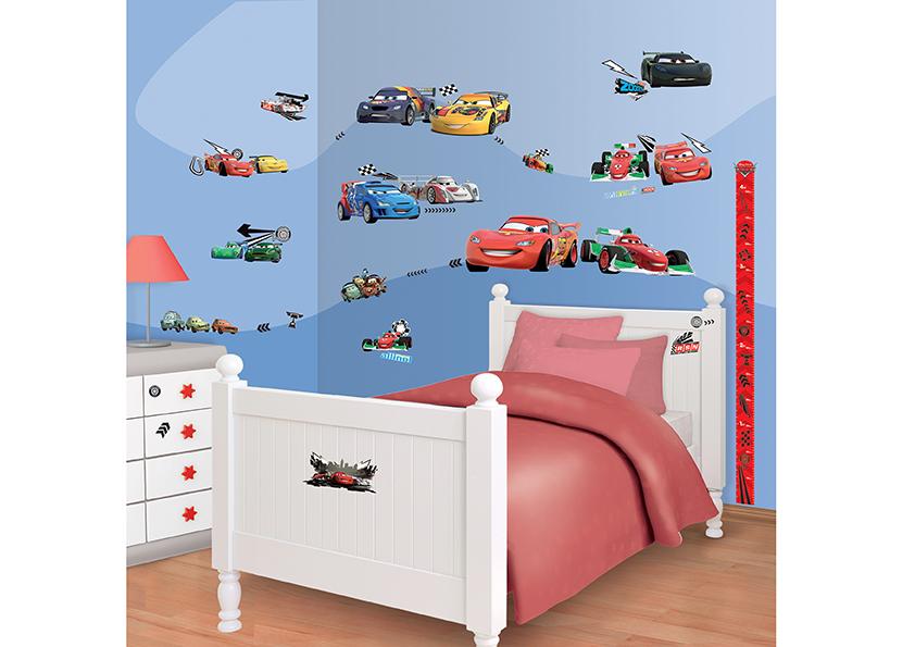 Samolepicí dekorace Walltastic Cars 34 x 46 cm 41479 (Dětské samolepicí dekorace)