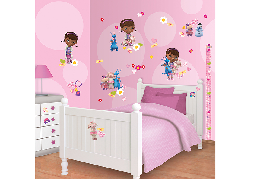 Samolepicí dekorace Walltastic Doc 34 x 46 cm 41516 (Dětské samolepicí dekorace)