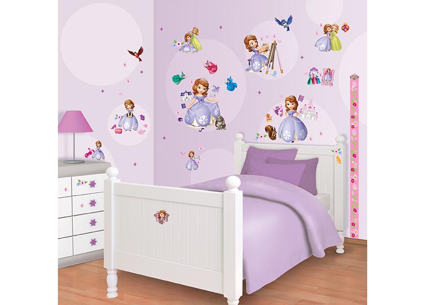 Samolepicí dekorace Walltastic Sofia 34 x 46 cm 41523 (Dětské samolepicí dekorace)