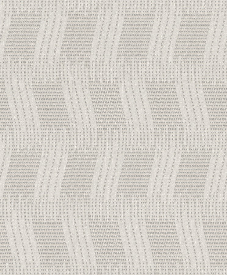 Tapeta na zeď New Wave 453805 (Vliesová tapeta - bílá, stříbrná)