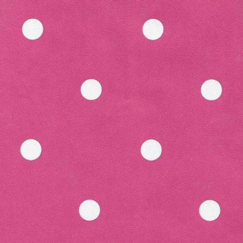Samolepicí tapeta Růžové puntíky 15-6330