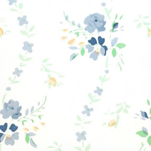 Samolepicí tapeta Modré květy 15-6440 (Samolepicí fólie | 45 cm x 15 m)