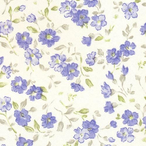 Samolepicí tapeta Blue Flowers 15-6835 (Samolepicí fólie | 45 cm x 15 m)