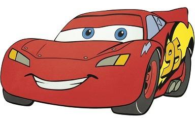 Velká pěnová figurka Cars (Disney)