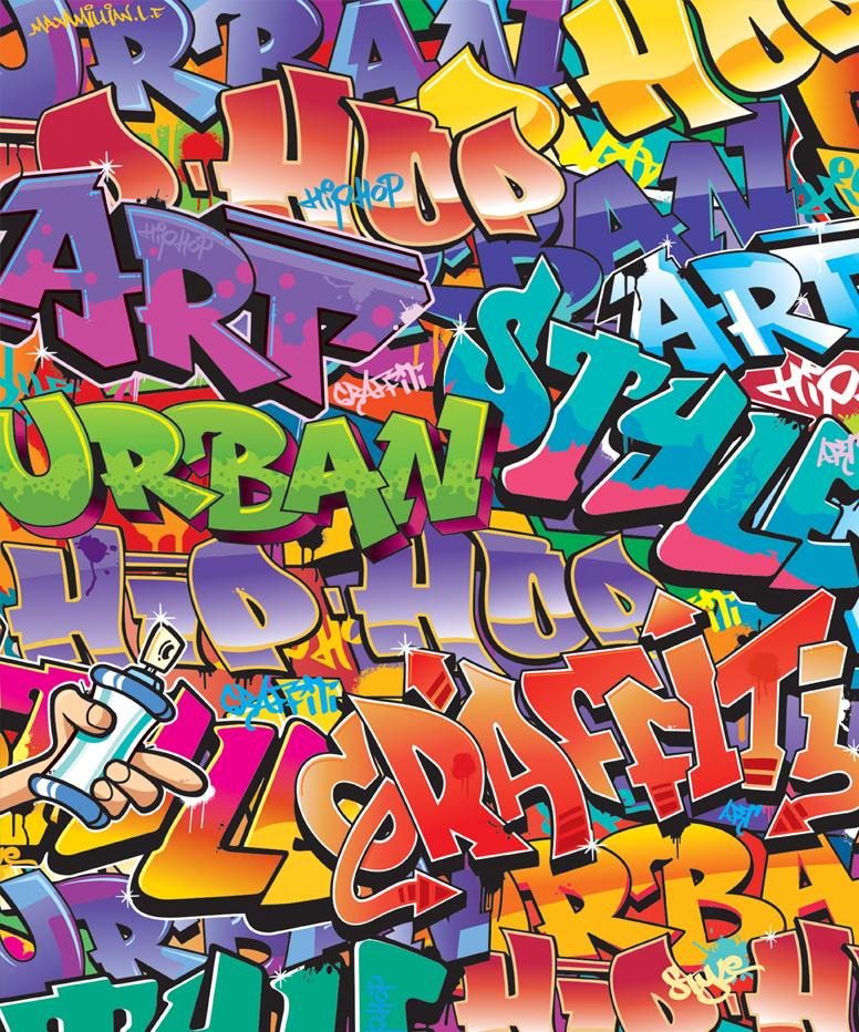 Fototapeta Walltastic Graffiti 203 x 243 cm