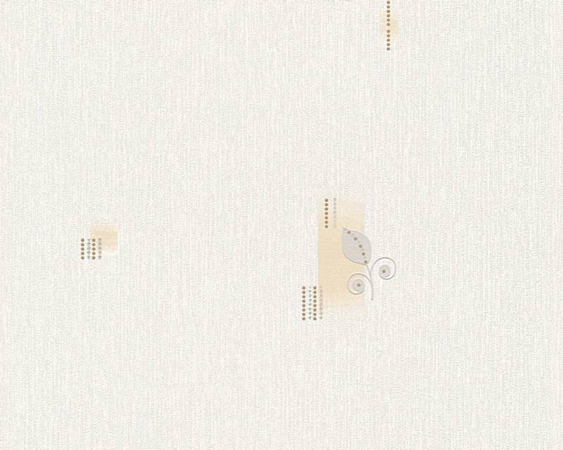 Tapeta A.S. Création Bahamas 95620-2 | 0,53 x 10,05 m (Vinylová tapeta na zeď - béžová, šedá)