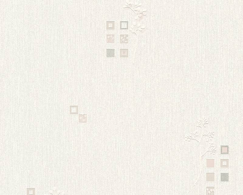 Tapeta A.S. Création Bahamas 95623-2 | 0,53 x 10,05 m (Vinylová tapeta na zeď - krémová)