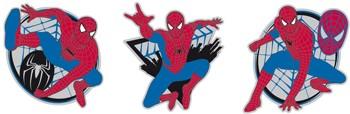 3 pěnové figurky spiderman