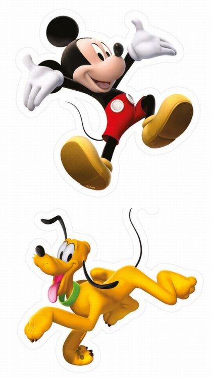 2 pěnové figurky Mickey