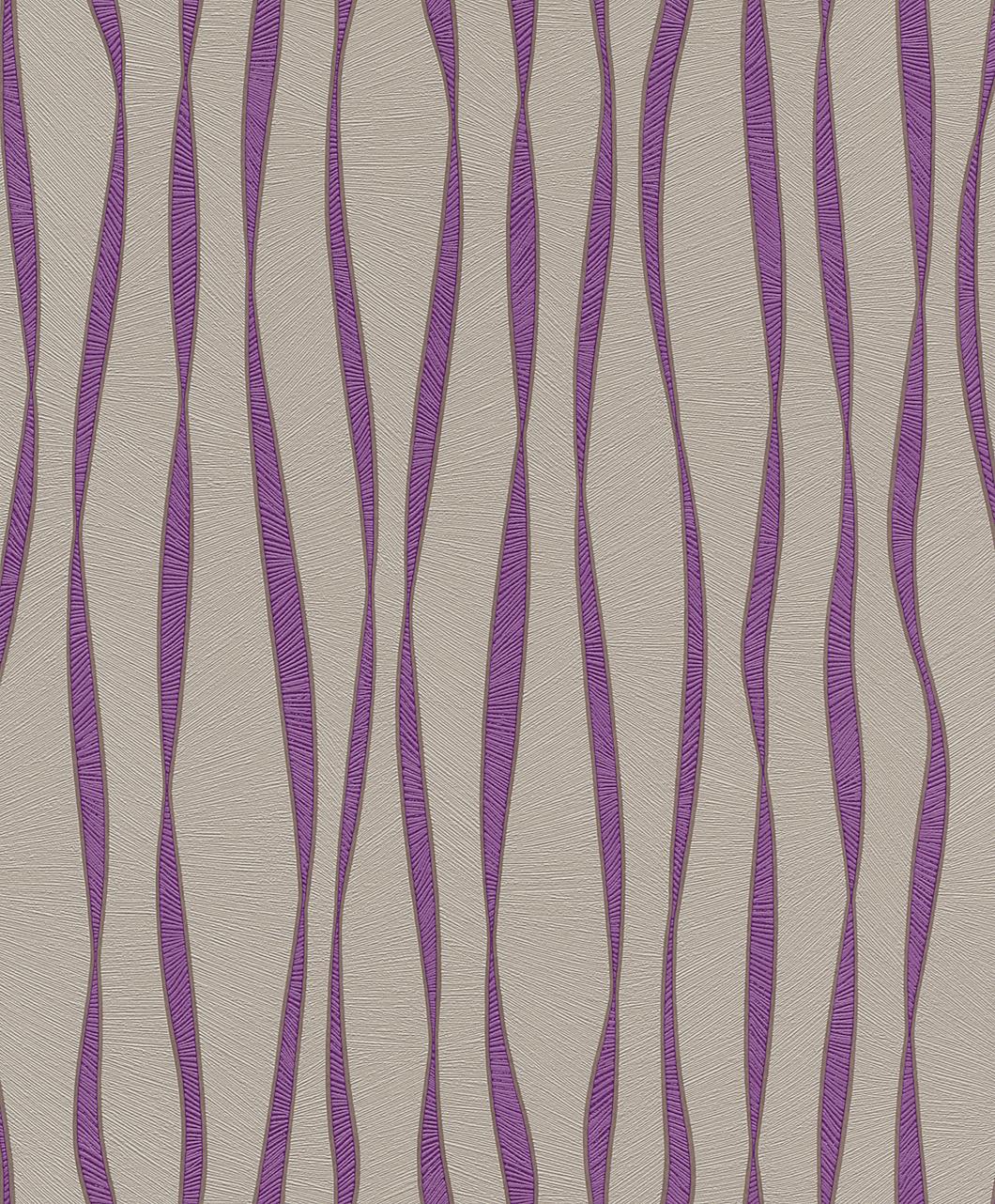 Tapeta na zeď Rasch Plaisir 788228 | 0,53 x 10,05 m (Vliesová tapeta - fialová)