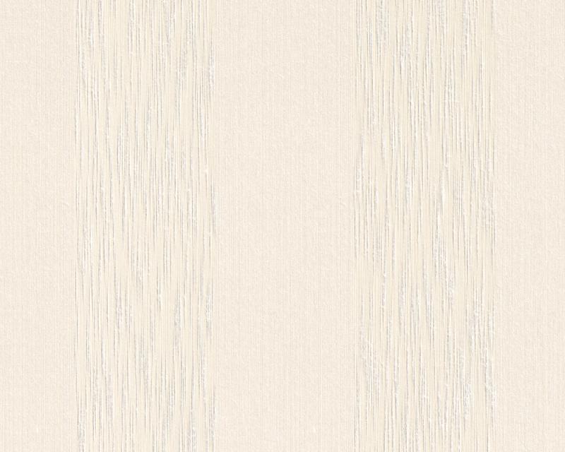 Tapeta A.S. Création Tessuto 95660-2 | 0,53 x 10,05 m (Textilní tapeta - krémové pruhy)