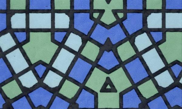 Samolepicí tapeta MODRÁ MOZAIKA - šíře 45 cm (Samolepicí fólie | 45 cm x 15 m)
