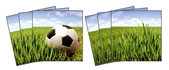 Samolepicí dekorace Football TI-015 (Dekorativní čtverce 15 x 15 cm)