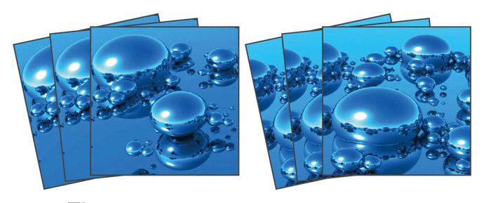 Samolepicí dekorace Drops TI-016 (Dekorativní čtverce 15 x 15 cm)