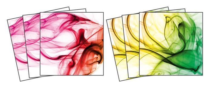 Samolepicí dekorace Smoke TI-017 (Dekorativní čtverce 15 x 15 cm)