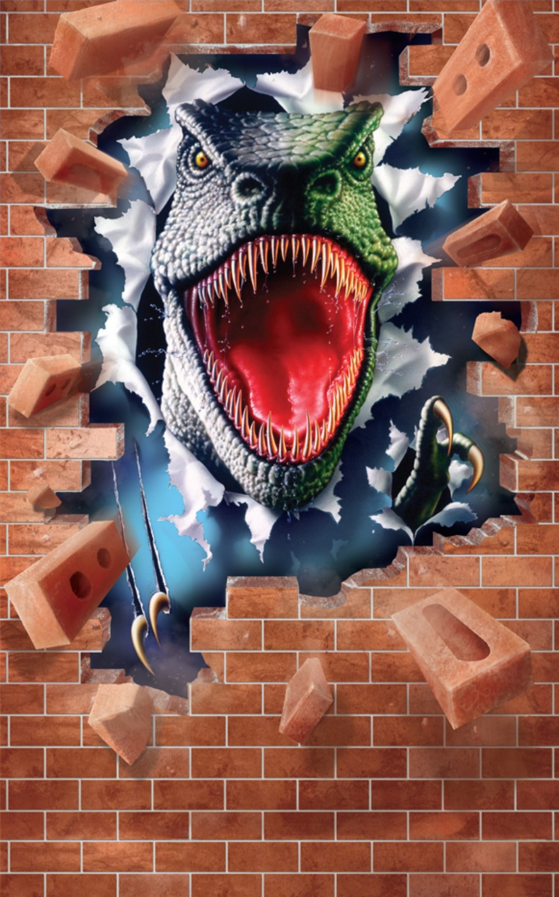 Plakát pro děti Řev Dinosaura 43039 (Plakát na zeď 152,4 x 243,84 cm)