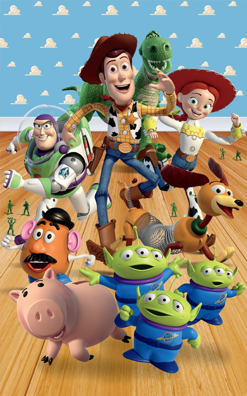 Plakát pro děti Řev Toy Story 43046 (Plakát na zeď 152,4 x 243,84 cm)