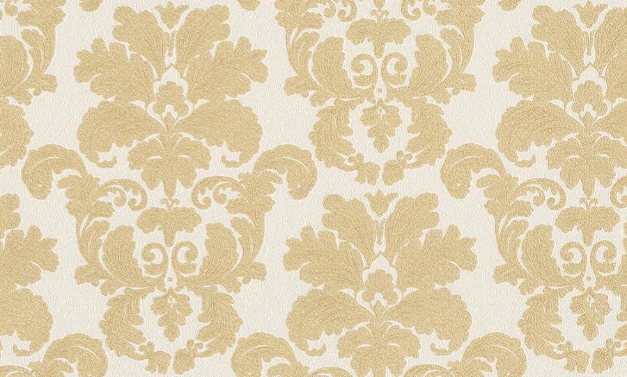 Tapety na zeď Temptation 95937-1 (Vliesové tapety - zlatá, krémová)