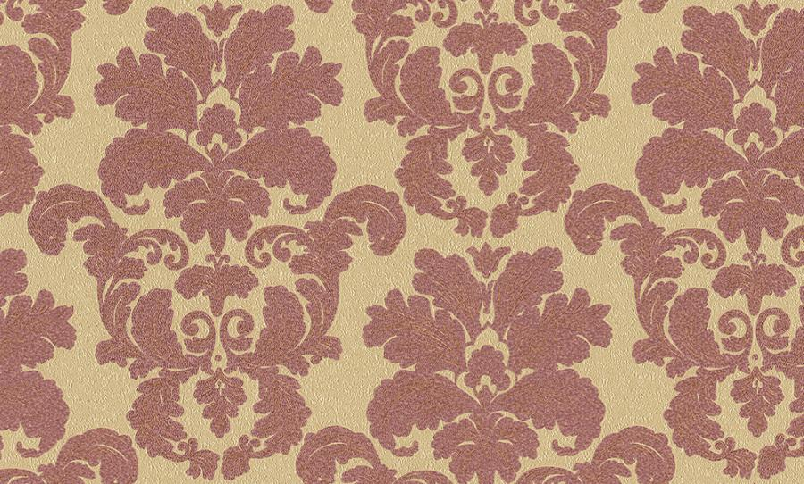 Tapety na zeď Temptation 95937-6 (Vliesové tapety - vínová, zlatá)
