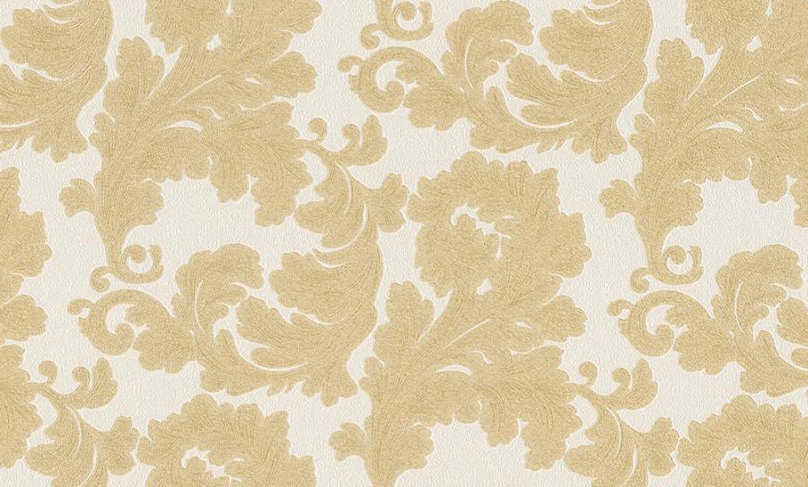Tapety na zeď Temptation 95938-1 (Vliesové tapety - zlatá, krémová)