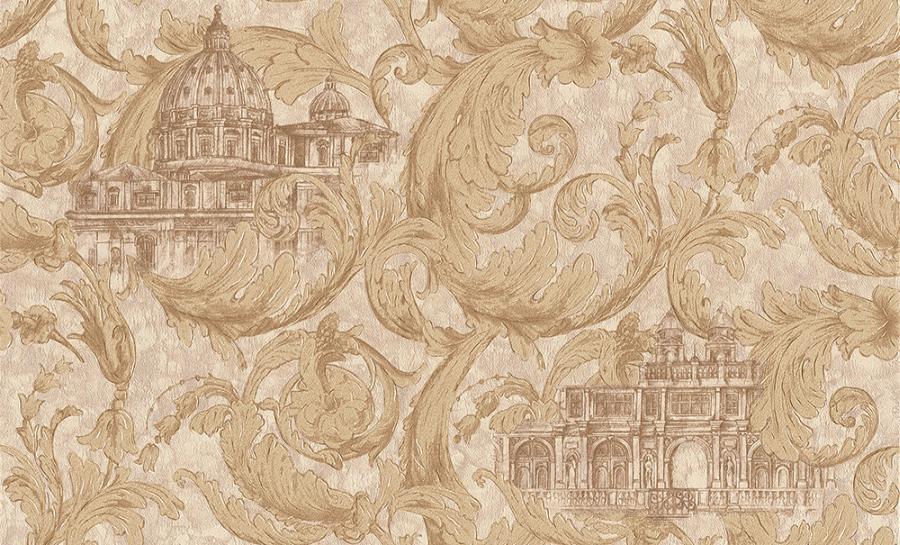 Tapety na zeď Temptation 95969-4 (Vliesové tapety - hnědá, zlatá)