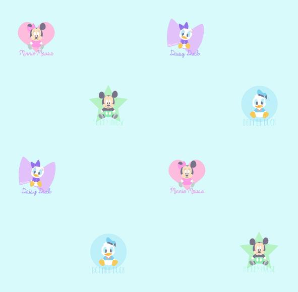 Dětské tapety Disney Deco 3000-1 | 10,05 x 0,53 m (Tapeta Mickey Mouse)