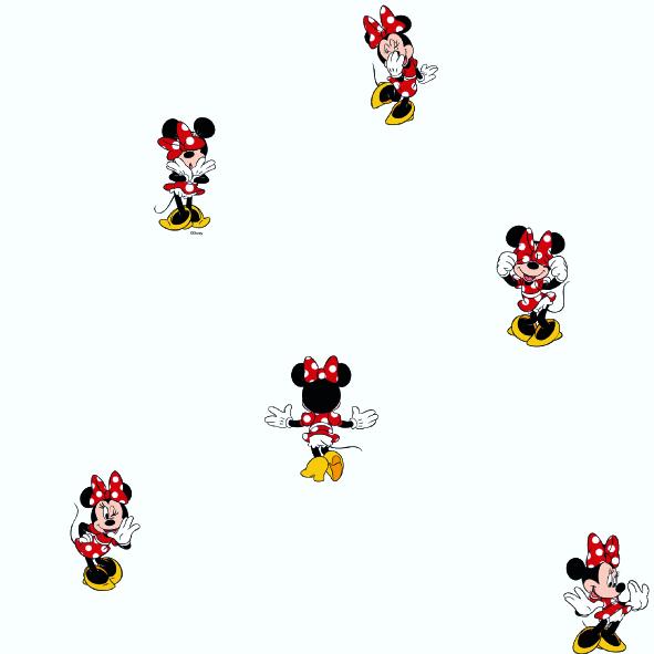 Dětské tapety Disney Deco 3002-1 | 10,05 x 0,53 m (Tapeta Mickey Mouse - papírová)