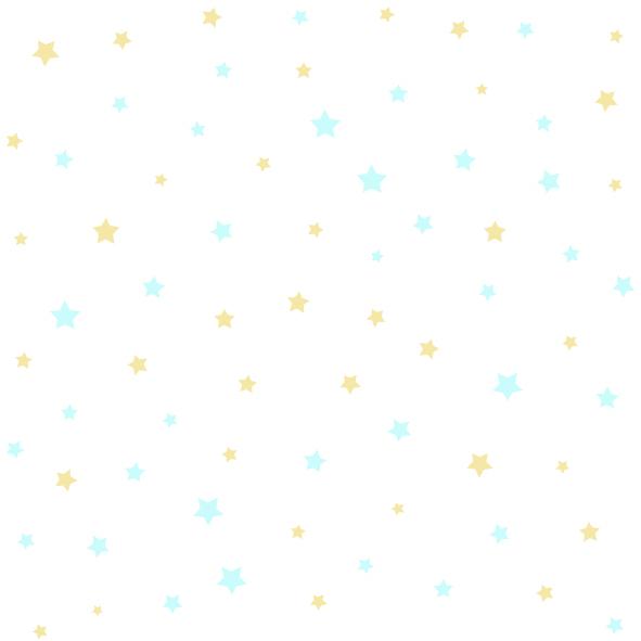 Dětské tapety Disney Deco 3007-1 | 10,05 x 0,53 m (Tapeta s hvězdičkami - papírová)