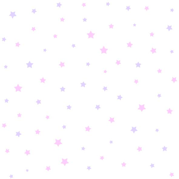 Dětské tapety Disney Deco 3007-2 | 10,05 x 0,53 m (Tapeta s hvězdičkami - papírová)
