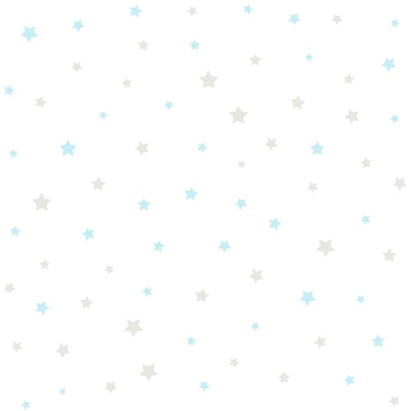 Dětské tapety Disney Deco 3007-3 | 10,05 x 0,53 m (Tapeta s hvězdičkami - papírová)