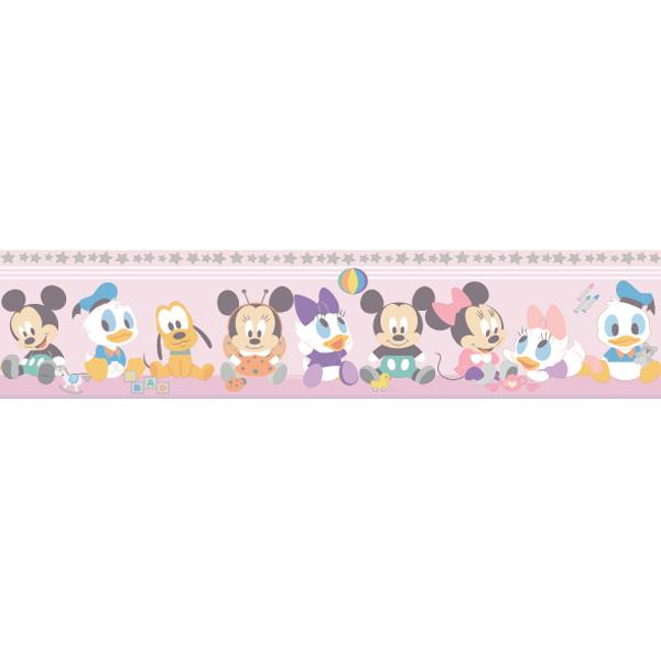 Samolepicí bordura Disney Deco 3500-1 | 5 m (Dětská bordura na zeď)