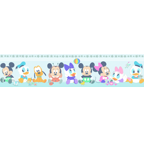 Samolepicí bordura Disney Deco 3500-2 | 5 m (Bordura Kačer Donald)