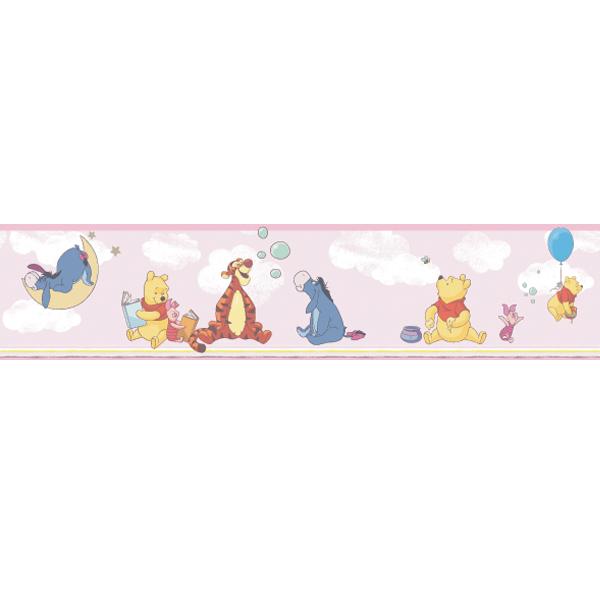 Samolepicí bordura Disney Deco 3501-2 | 5 m (Bordura Pú a kamarádi)