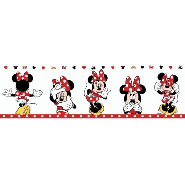 Samolepicí bordura Disney Deco 3502-1 | 5 m (Bordura Mickey Mouse)