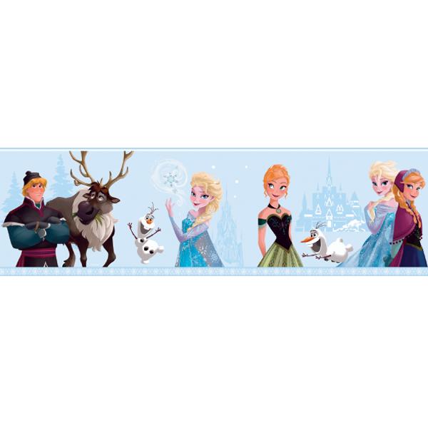 Samolepicí bordura Disney Deco 3503-1 | 5 m (Bordura Princezny)