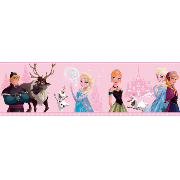 Samolepicí bordura Disney Deco 3503-2 | 5 m (Bordura Princezny)
