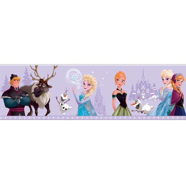 Samolepicí bordura Disney Deco 3503-3 | 5 m (Bordura Princezny)