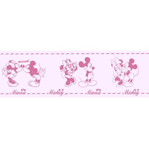 Samolepicí bordura Disney Deco 3506-2 | 5 m (Bordura Mickey Mouse)