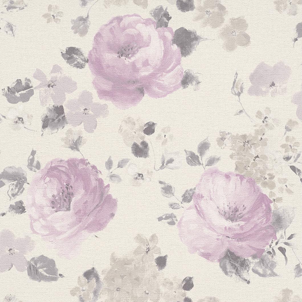 Tapety na zeď Rasch Florentine 448832 | 0,53x10,05m (Vliesová tapeta - hnědá, růžová)