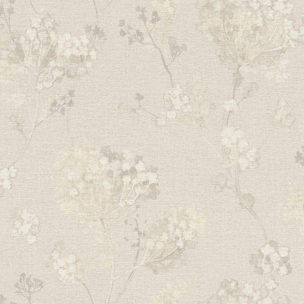 Tapety na zeď Rasch Florentine 449259 | 0,53x10,05m (Vliesová tapeta - béžová)