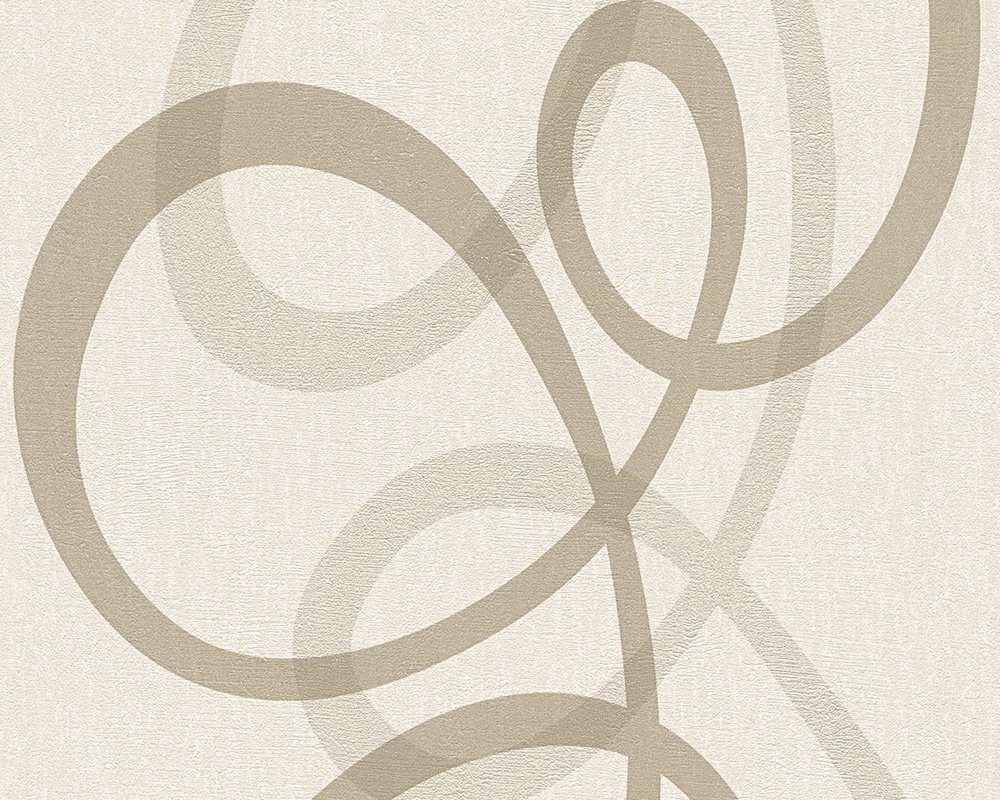 Tapeta na zeď Dimex 96189-2 (Vliesová moderní tapeta - béžová)