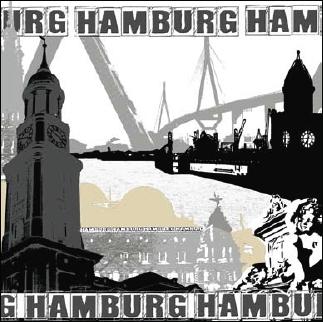 Fototapeta na zeď Hamburg - 0320-7M (Vliesová fototapeta na zeď)